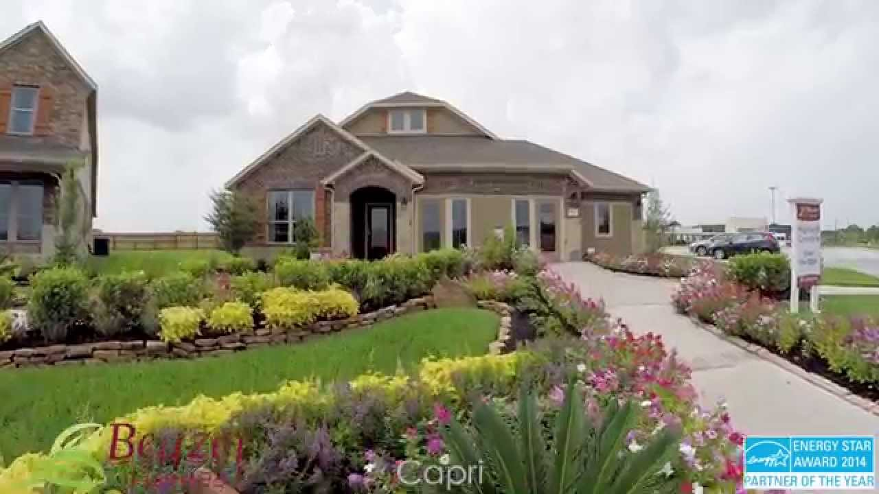 Beazer Homes In Houston Tx Area Capri Floor Plan Homelo